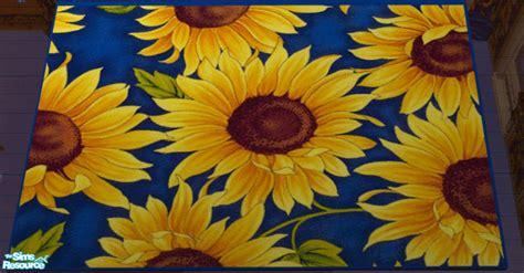 Sunflower Area Rug by Lisa9999 S Sunflower Bedroom Area Rug