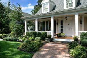 landscaping ideas in front of porch montclair nj traditional porch new york by landscape techniques inc