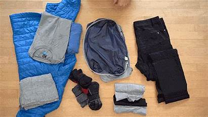 Travel Clothes Pack Packing Shirt Mens Pair