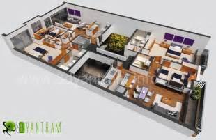 simple but home interior design 3d floor plan interactive 3d floor plans design