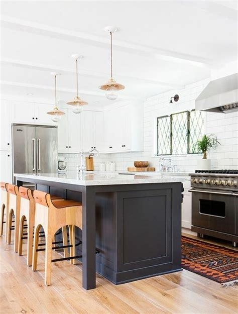 cuisine ilot central cuisson déco cuisine avec ilot central avec plaque de cuisson