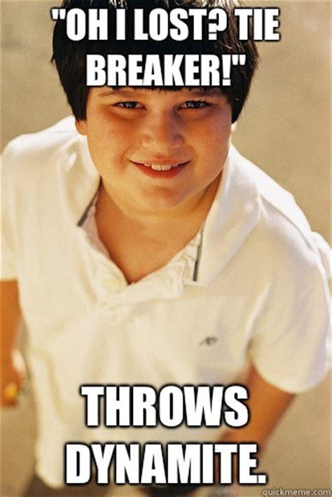 Tie Meme - annoying childhood friend memes quickmeme