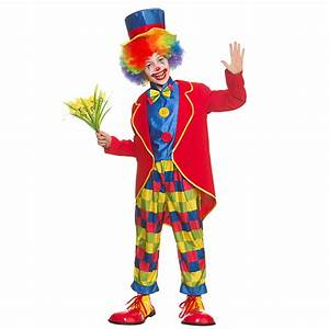 Childs Circus Clown Costume – Dunbar Costumes