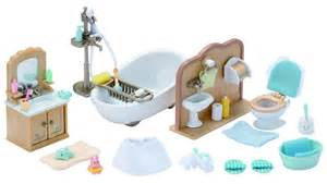 playmobil badezimmer sylvanian families country bathroom set collectibles from boswells