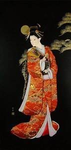 Japanese Art, Gisha Girls, Geishas, Asian Art