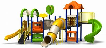 Playground Transparent Slide Swing Background Park Estate
