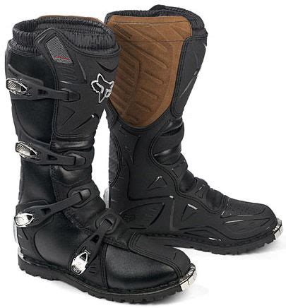 Moofeat Tracking Boots Black fox tracker offroad boots buy cheap fc moto