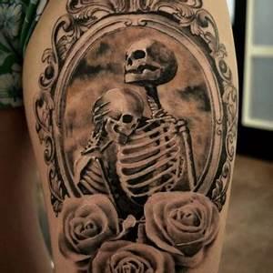 Tatouage Couple Original : tatouage tete de mort couple tuer auf ~ Melissatoandfro.com Idées de Décoration