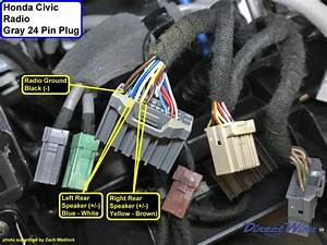 Assistance Needed  2017 Civic Si Audio Head Unit Wiring Diagram - Honda-tech