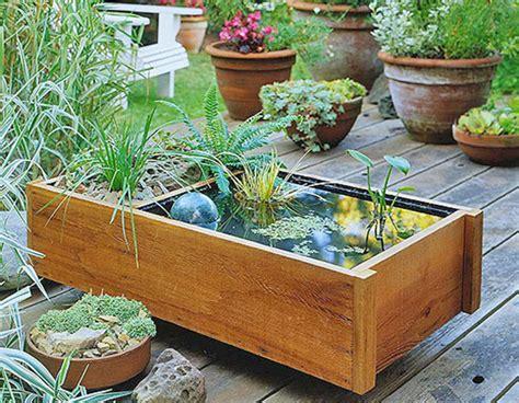 Container Water Gardens  Sheila Zeller Interiors