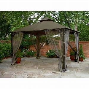 Garden Oasis 10 Ft X 12 Ft Privacy Gazebo