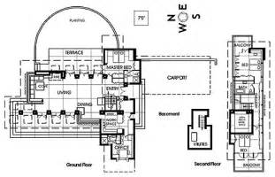 Zimmerman House Floor Plan