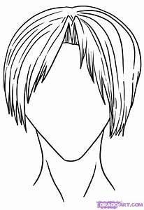 How to Draw Male Hair Styles, Step by Step, Anime Hair ...