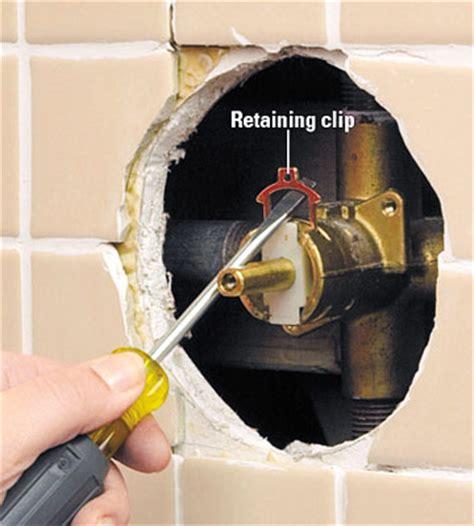 tub  shower cartridge faucet repair  installation