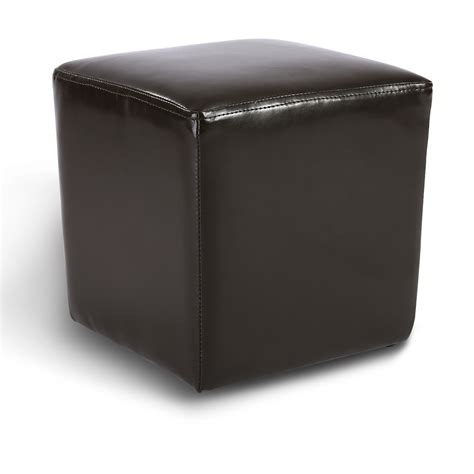 Stool Ottoman by Modern Faux Leather Ottoman Footrest Stool Foot Rest Small