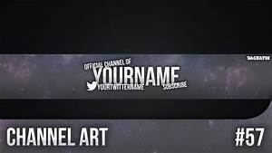 Simple Channel Art Template 57 - Free Photoshop Download ...