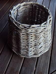 Abat Jour Rotin : abat jour rotin diam tre 20 cm gris blanchit clayre and eef flanelle et ficelle ~ Teatrodelosmanantiales.com Idées de Décoration