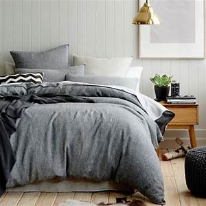 Parure Lit Enfant : le linge de lit en lin la parure de lit cosy et naturelle ~ Teatrodelosmanantiales.com Idées de Décoration