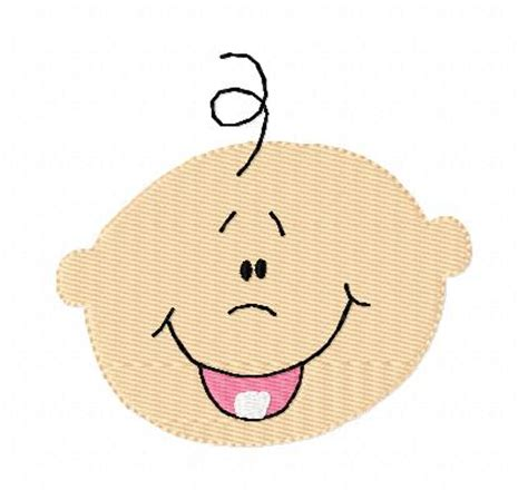happy baby face clipart  clipart