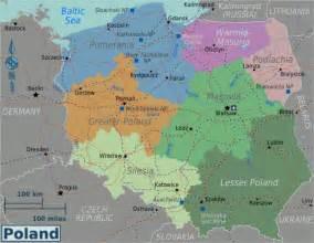 Poland Regions Map