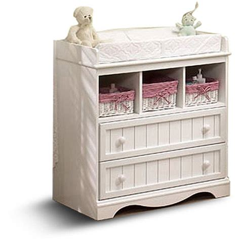 baby dresser changing table south shore baby storage furniture dresser changing table