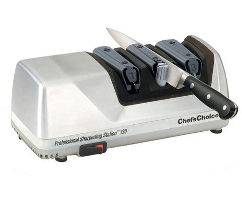 best kitchen knives 100 chef 39 s choice model 130 electric knife sharpener brushed