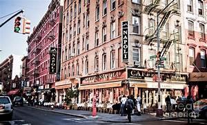 Little Italy New York City Photograph by Ken Marsh