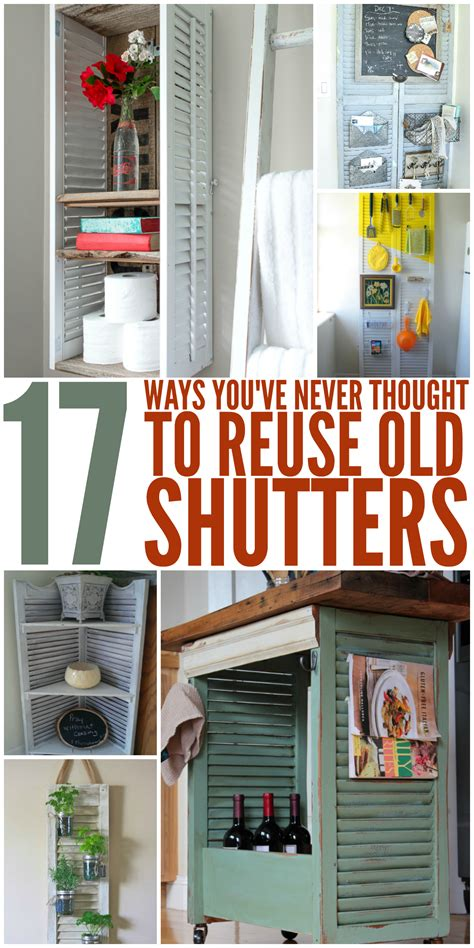 bathroom cabinet painting ideas 17 ways you 39 ve never thought to reuse shutters