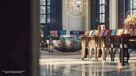 Dreamy Spaces Rendered By Muhammad Taher : Luxury
