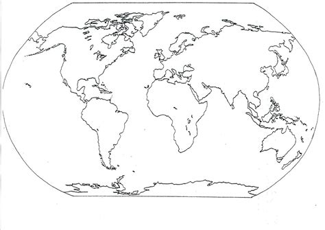 printable   continents map   world catchy