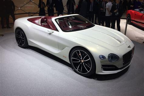 future bentley all electric bentley exp 12 speed 6e convertible at geneva