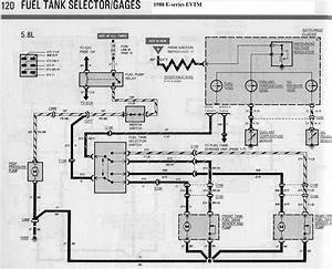 1988 E350 5 8 Efi Dual Tank Fuel Pump Wiring Diagram