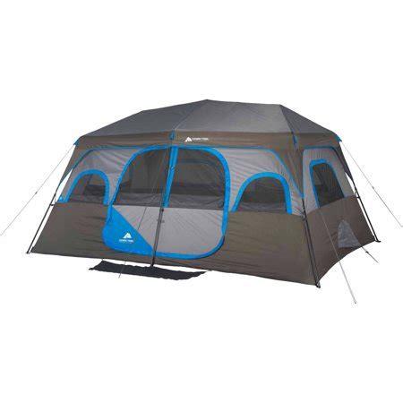 ozark trail 6 person instant cabin tent ozark trail 10 person 2 room instant cabin tent walmart