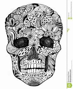 Crane Mexicain Dessin : cr ne mexicain recherche google tattoo pinterest hand drawn flowers skull et floral skull ~ Melissatoandfro.com Idées de Décoration