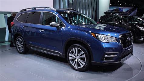 Subaru Ascent 2019 Vs 2020 by 2019 Subaru Ascent Fills An Suv Sized Consumer Reports
