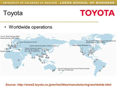 toyota worldwide supply chain management toyota ppt best chain 2018