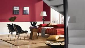 1001 conseils et idees quelle couleur va avec le rouge With idee couleur mur salon 1 1001 conseils et idees pour amenager un salon blanc et beige