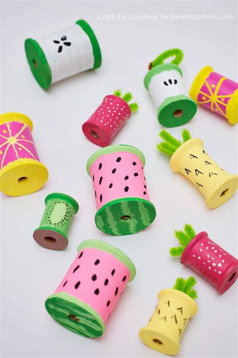 Summer Fruit Recycled Craft Allfreekidscraftscom