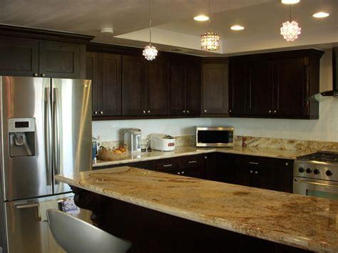 Espresso shaker Kitchen cabinets Design   kitchen cabinets