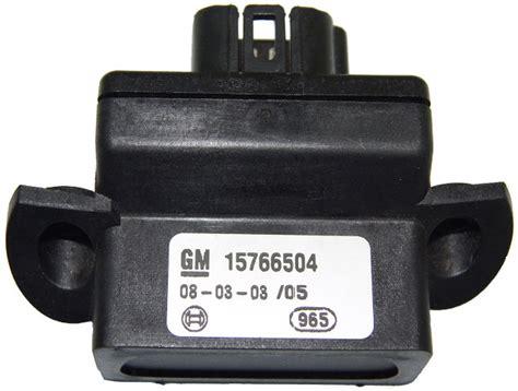 2002-2011 Gm Telltale Instrument Cluster Warning Rear