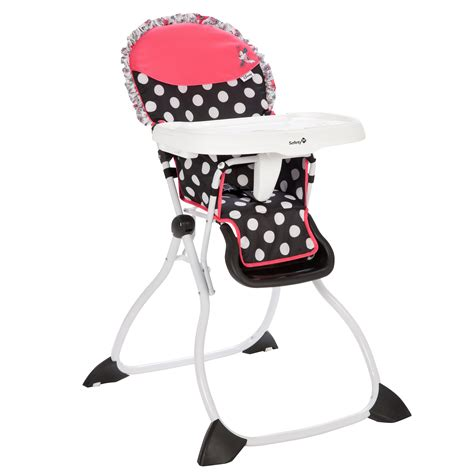 Minnie Mouse Coral Flowers Fast Pack  Ee  High Ee    Ee  Chair Ee   Disney Baby