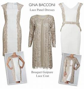 gina bacconi mother of the bride lace wedding outfits With cream dress wedding guest