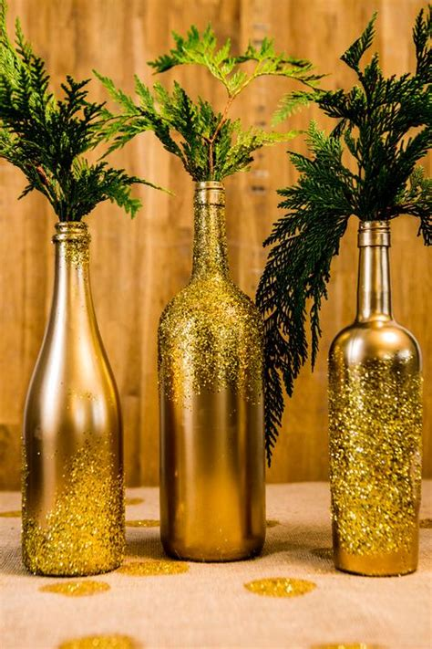 wine bottle crafts  surprise  guests beautifully