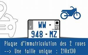 Plaque D Immatriculation Norauto : plaque d 39 immatriculation des motos une taille unique ~ Dailycaller-alerts.com Idées de Décoration