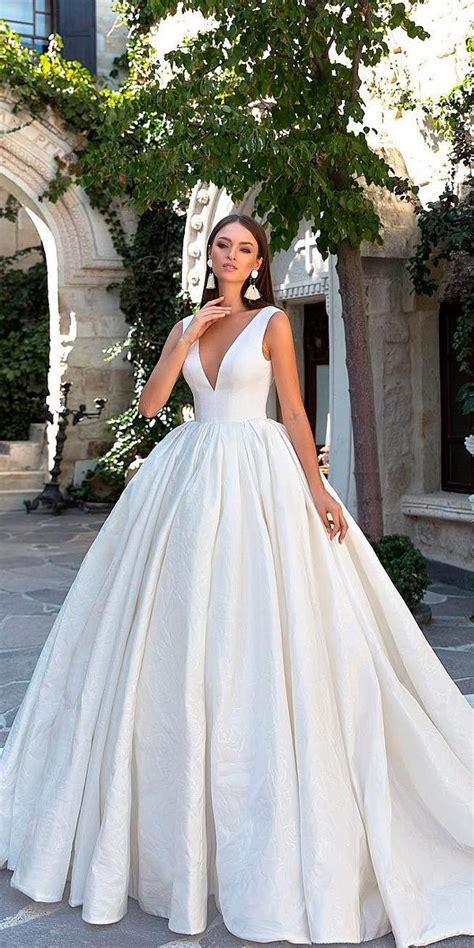 30 Simple Wedding Dresses For Elegant Brides 드레스