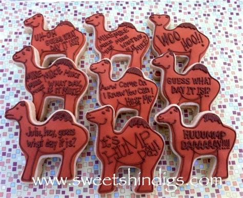 Geico Inspired Hump Day Camel Cookies