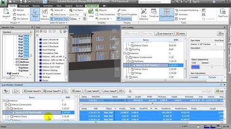 creating  detailed quantity takeoff  navisworks youtube