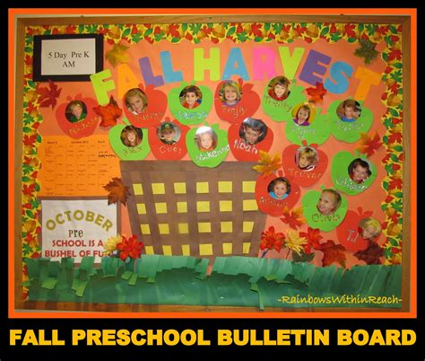 fall leaf color projects bulletin boards drseussprojects 573 | Fall Preschool Bulletin Board