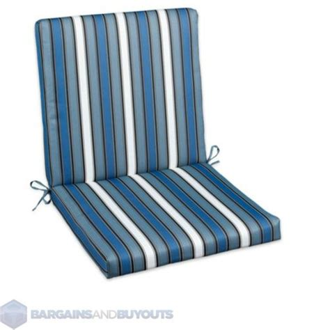 outdoor 22 quot hinged back seat cushions color wbs 391127 ebay