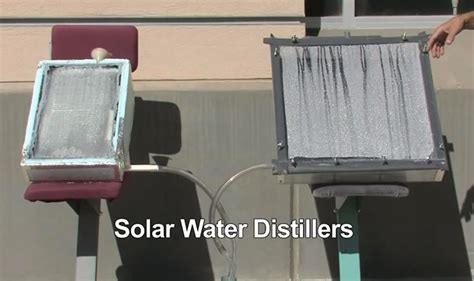 diy solar water distillers purify contaminated water